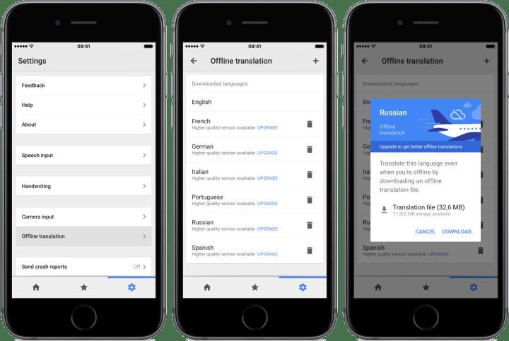 smt googletradutor offlinetranslator 720x482 - Nova atualização amplia recursos do Google Tradutor