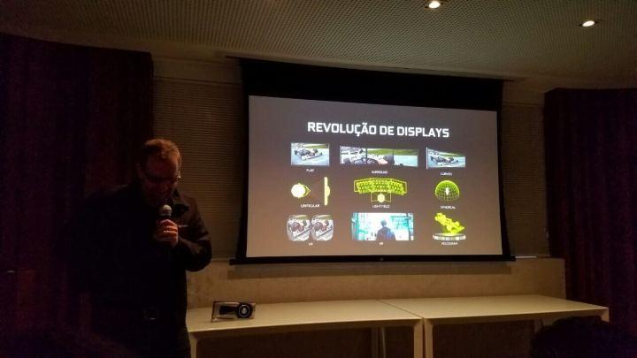 varias telas geforce gtx 1080 720x405 - NVIDIA lança GeForce GTX 1080 e 1070 no Brasil; Confira os preços