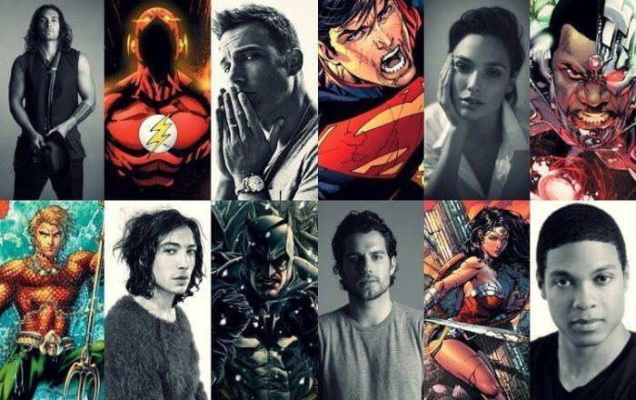 Elenco do filme da Liga da Justiça