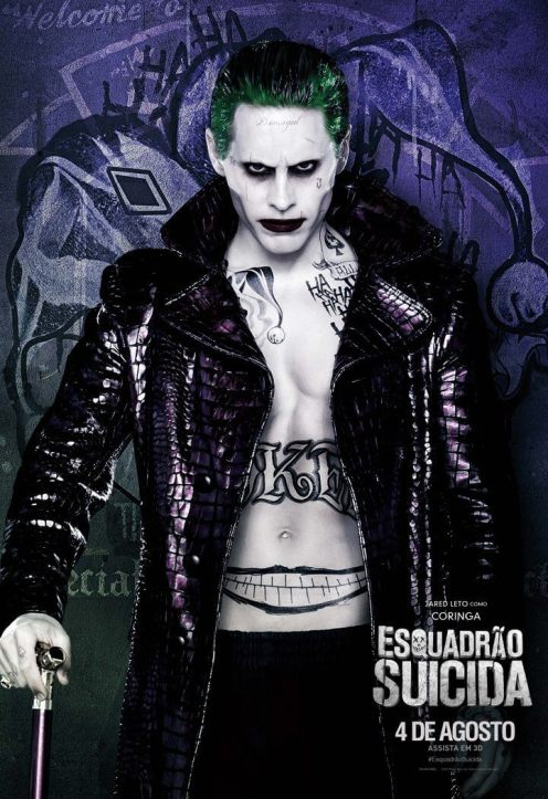 Até o Coringa da série de TV Gotham é melhor que esse do Leto