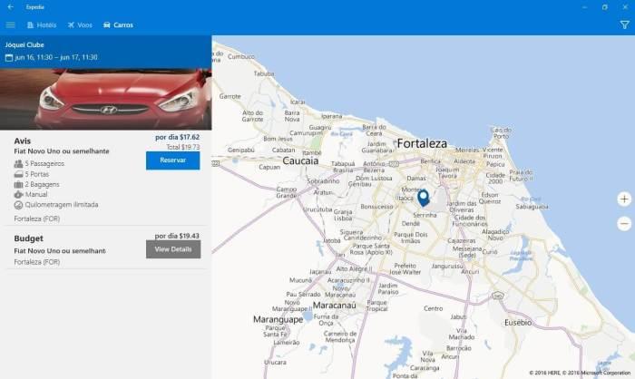Expedia carros 720x430 - Expedia lança app universal para Windows 10