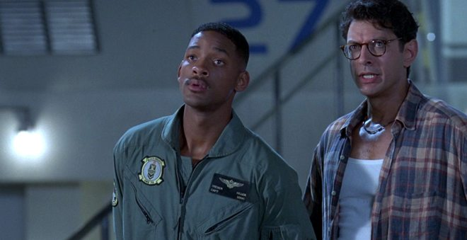 Jeff Goldblum retornou como David Levinson