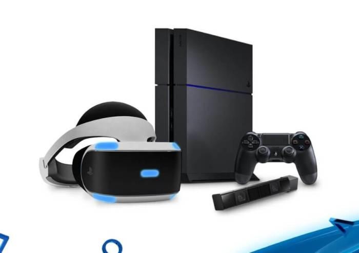 PS VR e PS4 720x507 - E3 2016: PlayStation VR terá Star Wars: Battlefront, Batman Arkham e FF XV