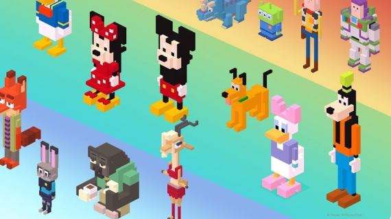 disney crossy road figurines 720x405 - 5 apps e jogos para o seu smartphone com Windows 10