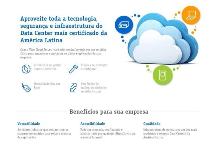 smt vivo p3 720x480 - Indicado para micro e pequenas empresas, Vivo Cloud Server One é lançado no Brasil