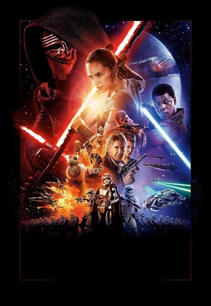 Star Wars O Despertar da Força pôster