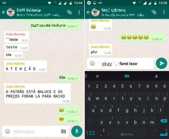 Aprenda como mudar a fonte do WhatsApp