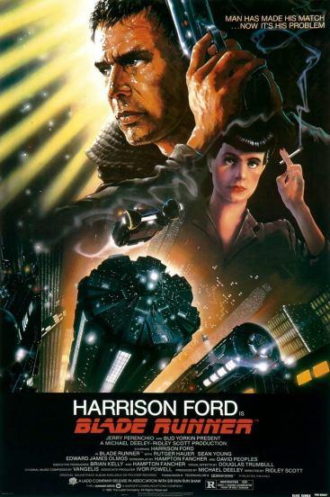 Blade Runner: ficção científica com ar profético-noir, em 1982.