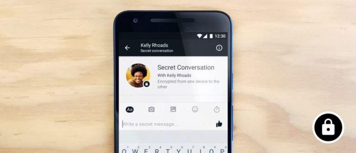 secretconv nwsrm final 720x311 - Facebook testa encriptação de ponta-a-ponta no Messenger