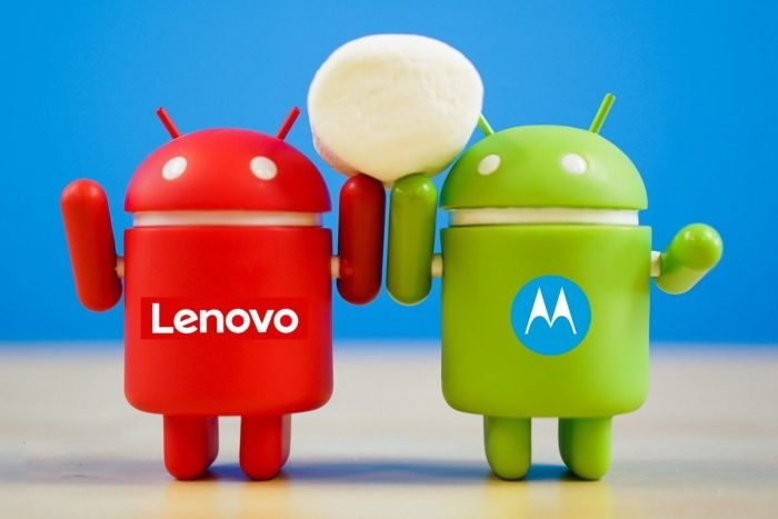 Dispositivos da Lenovo e da Motorola com Android Marshmallow