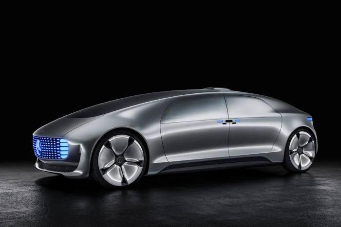 Protótipo da Mercedes-Benz apresentado durante o IAA 2015