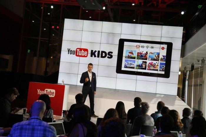 Lançamento do YouTube Kids em fevereiro de 2015