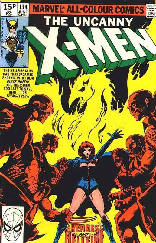 """x men 134 rara a saga da fênix - As 5 melhores referências que encontramos em """"Stranger Things"""""""