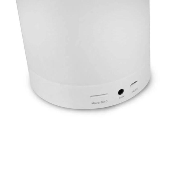 404010130100 04 SPEAKER BLUET C LAMP LED LUMINUS SP BL1000WH 720x720 - Luminus (SP-BL1000WH): luminária LED que também é caixa de som Bluetooth