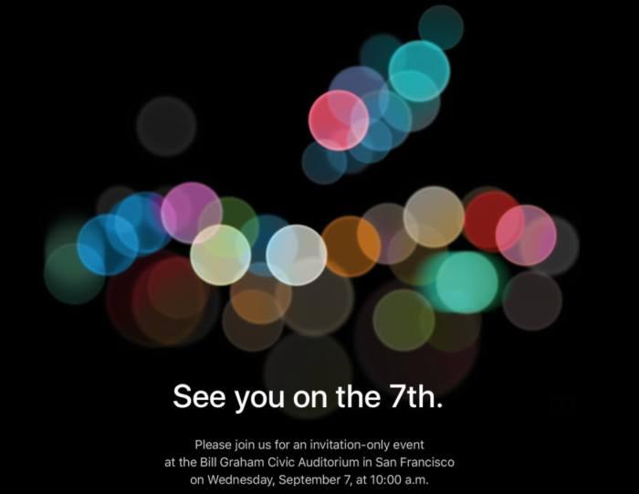CrCgWVfXYAAfn6p 720x556 - Evento do iPhone 7 já tem data divulgada pela Apple
