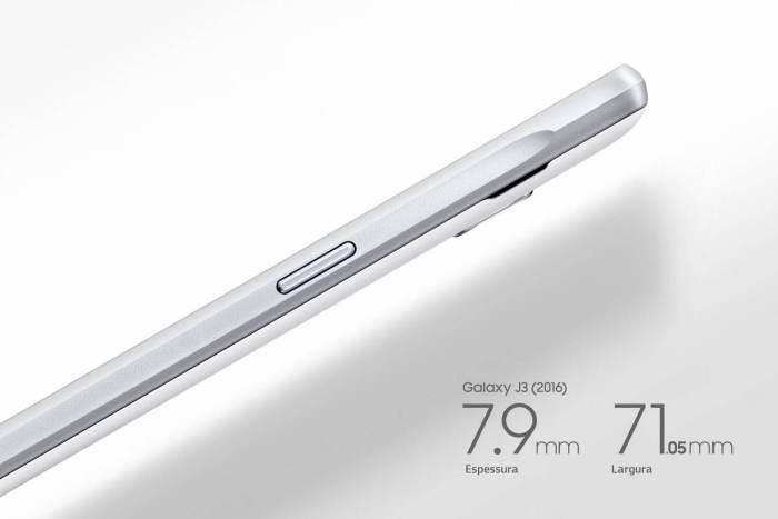 Galaxy J3 Design 720x480 - Review: Galaxy J3, o intermediário valente da Samsung
