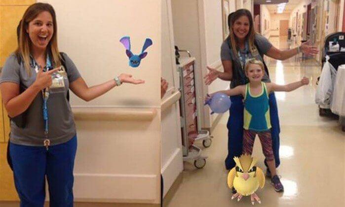 aaaaa - Hospital usa Pokémon Go para ajudar crianças internadas