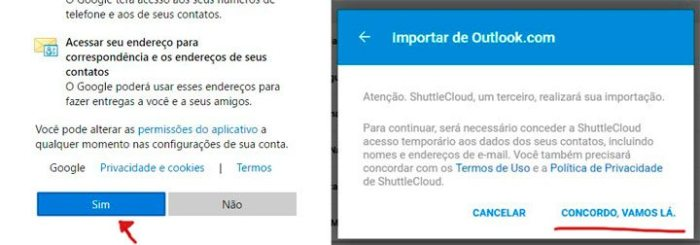 concordo vamos la 720x252 - Tutorial: como importar e exportar contatos do Gmail e Outlook