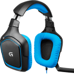 g430 gaming headset images - Review: Headset Logitech G430 com som Surround 7.1