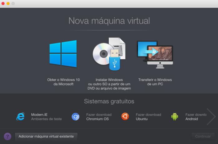 05. parallels 12 nova vm 720x477 - Tenha o Windows sempre à mão no macOS com o Parallels Desktop