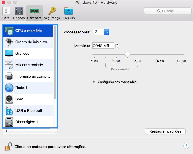 12. parallels 12 nova vm customizacao hardware - Tenha o Windows sempre à mão no macOS com o Parallels Desktop