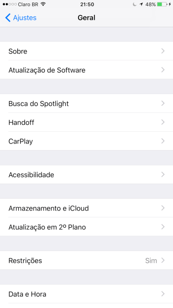 Tutorial: Como ativar o AssistiveTouch no iPhone