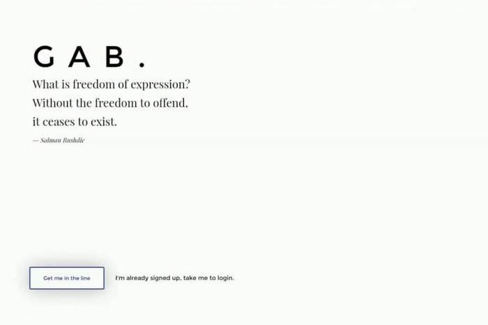 Gab.ai Home 720x480 - Gab, a rede social para quem adora uma boa briga