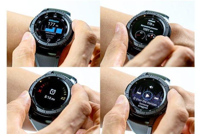 Hands On: Samsung Gear S3 6