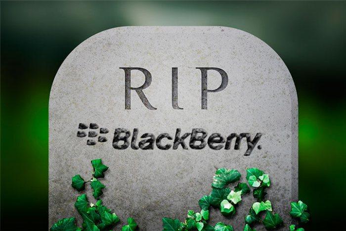 RIP BlackBerry