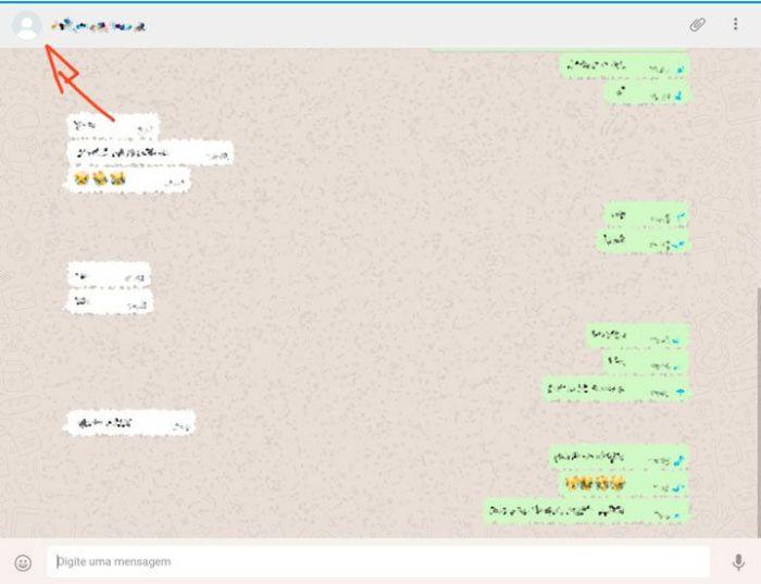 bloqueado no WhatsApp