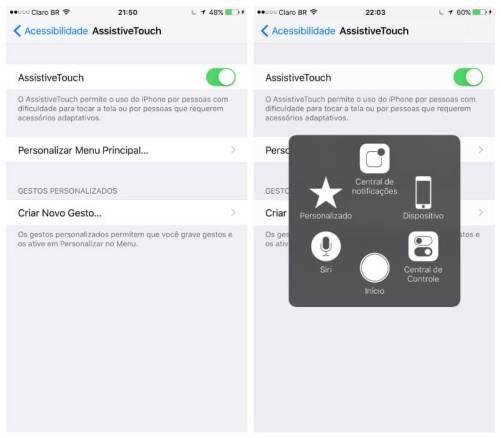 Tutorial: Como ativar o AssistiveTouch no iPhone