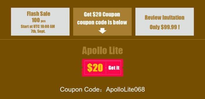 promoção tomtop 720x350 - Vernee Apollo Lite: smartphone com hardware potente e preço baixo