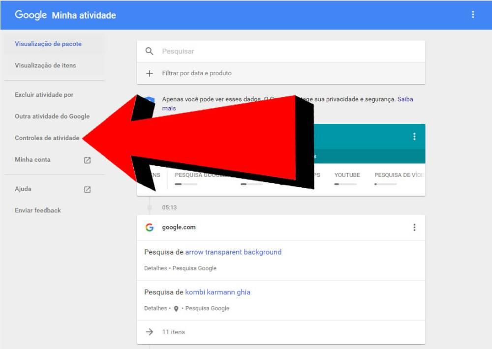 2 - Dica: como fazer o Google parar de te seguir