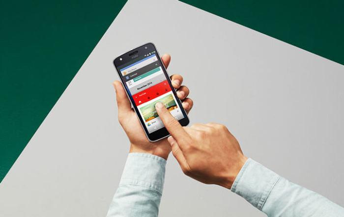Android 7.0 Nougat Lenovo Motorola