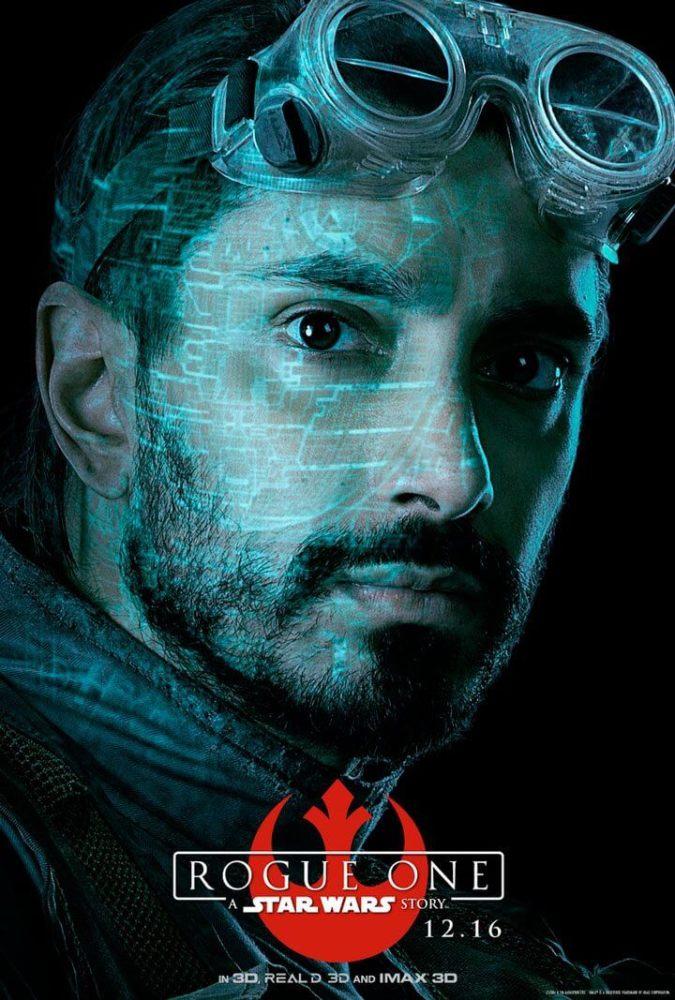 """Bodhi Rook 675x1000 - Personagens de """"Rogue One: Uma História Star Wars"""" ganham pôsteres"""