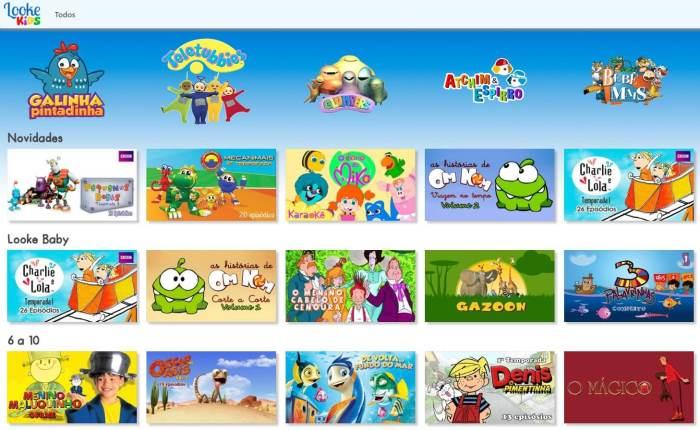 LookeKids Plataforma 720x442 - Dia das Crianças: Samsung oferece 1 mês de LookeKids para seus consumidores