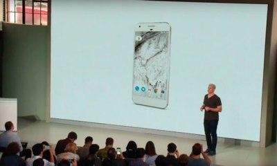 Google Pixel e Pixel XL, novos smartphones do Google