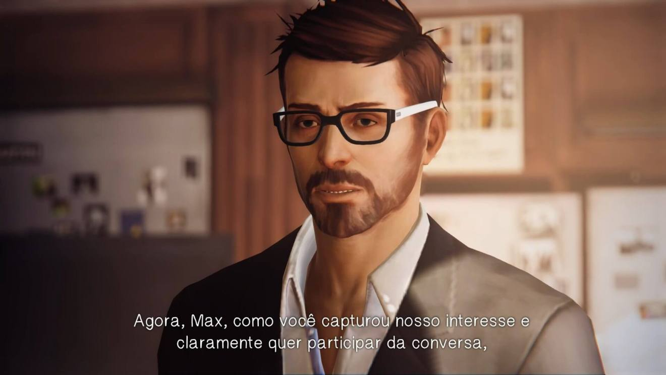 life is strange mark jefferson - Review: Life is Strange - Episódio 1: Chrysalis