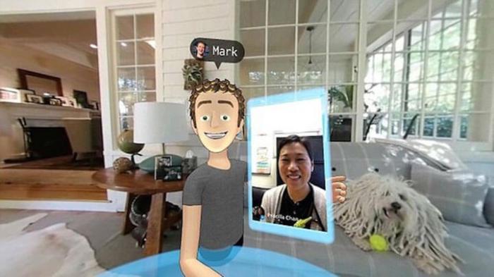 """selfie em VR 720x404 - Facebook cria um """"Second Life"""" em Realidade Virtual"""