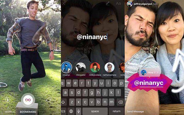 Instagram oferece vídeos em loop com o Boomerang - A cópia supera o original? 5 coisas que o Instagram Stories faz melhor que o Snapchat