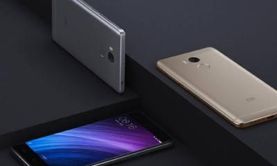 Xiaomi Redmi 4 launched with fingerprint sensor - Gearbest começa pré-venda do Xiaomi Redmi 4
