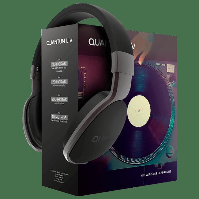 liv - Análise: Quantum LIV, um fone de ouvido Bluetooth com excelente custo-benefício