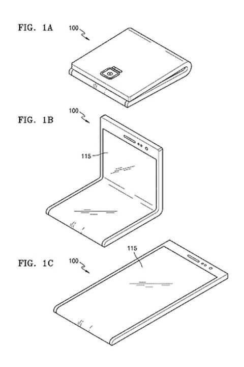 samsung galaxy x patent diagram 480x720 - O que sabemos sobre o Galaxy X, smartphone dobrável da Samsung