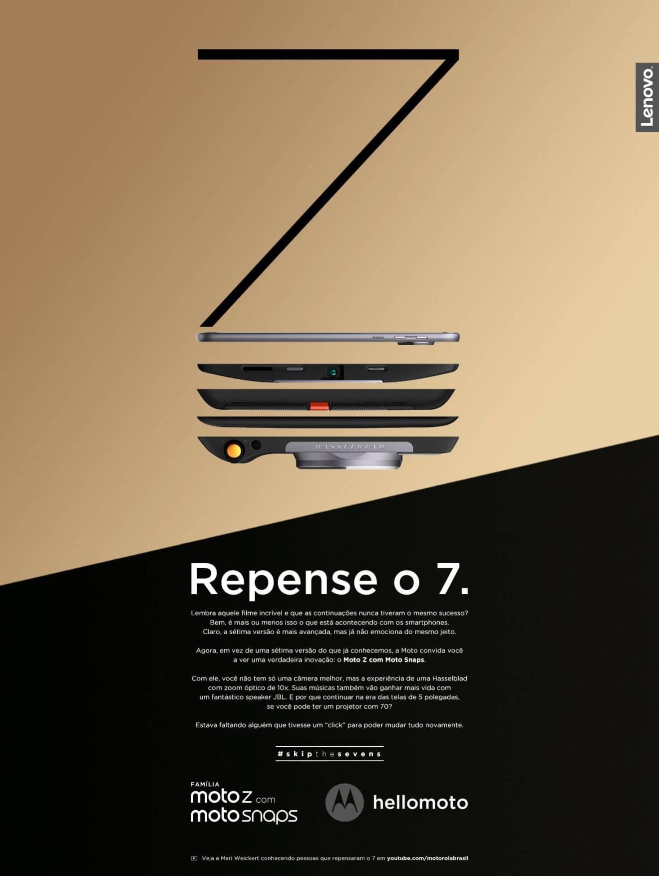 unnamed 1 - Motorola alfineta Galaxies e iPhones em nova campanha do Moto Z