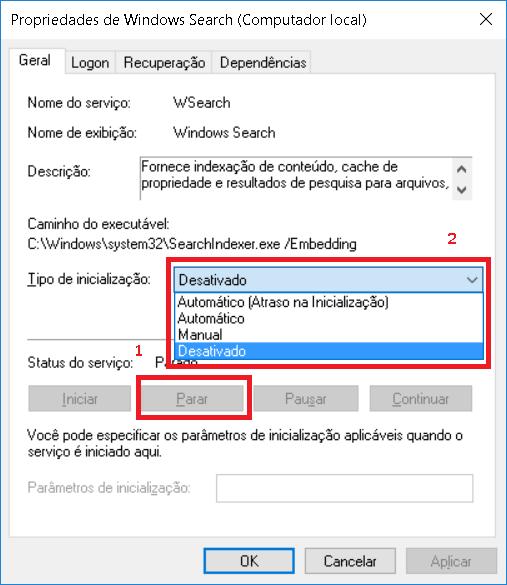 2.3 - Tutorial: Disco a 100% no Windows 10? Veja como resolver