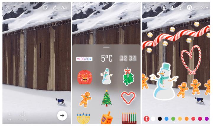 Instagram Stories ganha stickers.jpg 720x425 - Instagram Stories ganha stickers, figurinhas natalinas e nova forma de gravar vídeos