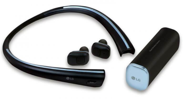 LG TONE Free HBS F110 768x416 - LG anunciará nova família Tone de fones de ouvido Bluetooth na CES 2017