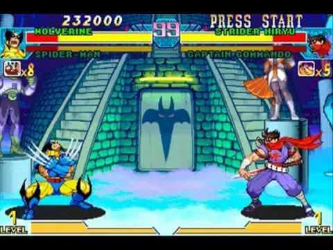 """Marvel vs Capcom Logan - """"Marvel vs. Capcom Infinite"""": heróis se enfrentam usando as Jóias do Infinito"""