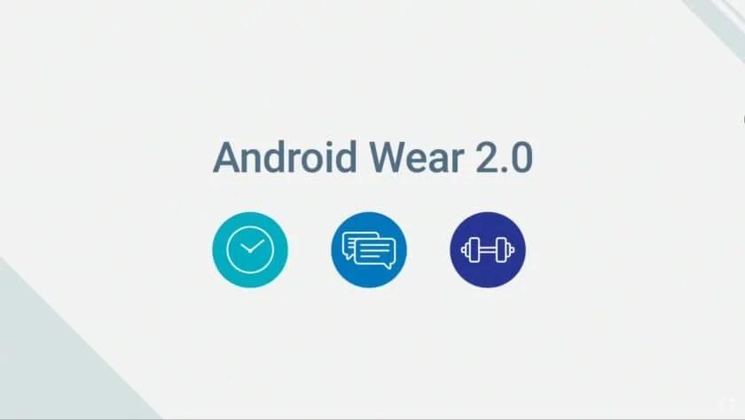 android wear 2.0 Google IO 2016 840x473 - Google pode lançar smartwatches com Android Wear 2.0 no começo de 2017