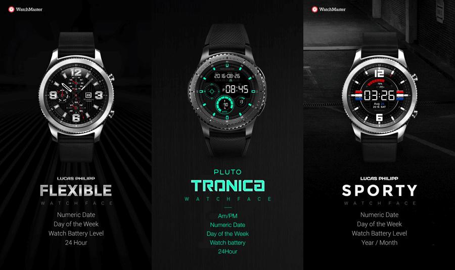 Faces de Relógio: elas mostram informações essenciais, que você configura, e mudam a cara do Gear S3.